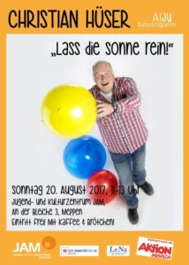 20.8.2017: Kinderkonzert mit Christian Hüser