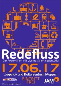 17.6.2017: Redefluss - Der Poetry Slam am neuen JAM