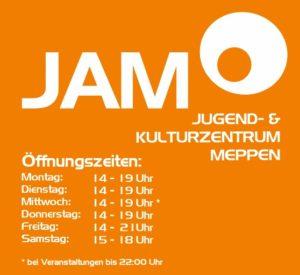 Angepasste Öffnungszeiten im JAM