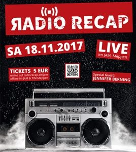 18.11.2017: Radio Recap live im JAM