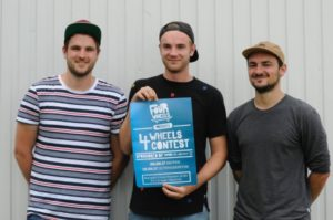 26.08.2017: 4 Wheels Skatecontest