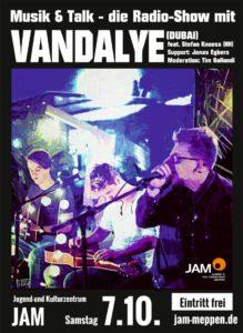 7.10.17: SOUNDCHECK - Musik & Talk mit Vandalye und Stefan Knoess