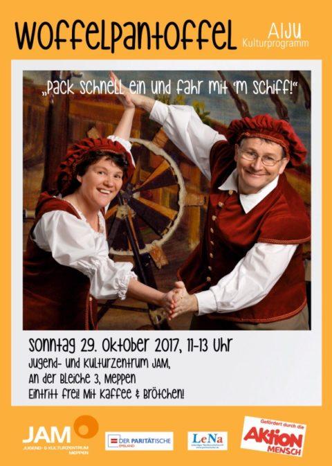 """29.10.: Kinderkonzert mit """"Woffelpantoffel"""""""