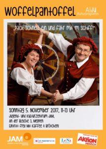 """5.11.2017: Kinderkonzert mit """"Woffelpantoffel"""""""