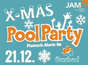 21.12.2017: X-Mas Poolparty im Emsbad