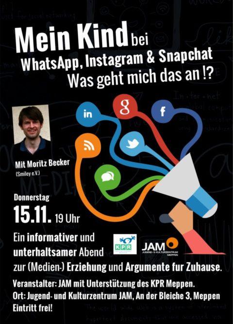 15.11.2018: Elternabend Medien mit Moritz Becker