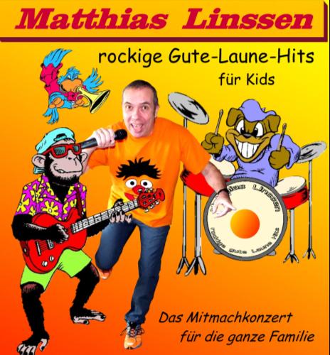 30.09.2018: Das rockige gute-Laune Mitmachkonzert mit Matthias Linssen