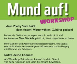 16.11.18: Slam-Workshop im JAM