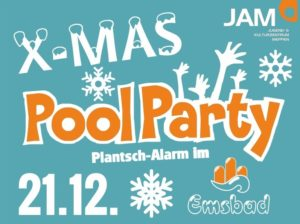21.12.2018: X-Mas Poolparty im Emsbad