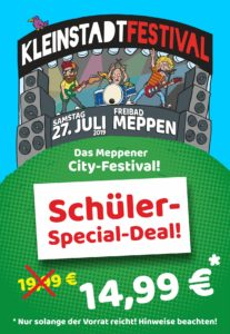 Hammer: Schüler-Special für 14,99 €!