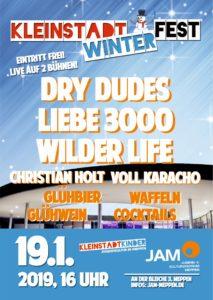 19.1.2019: Kleinstadtwinterfest - Der alternative Wintermarkt mit Livemusik