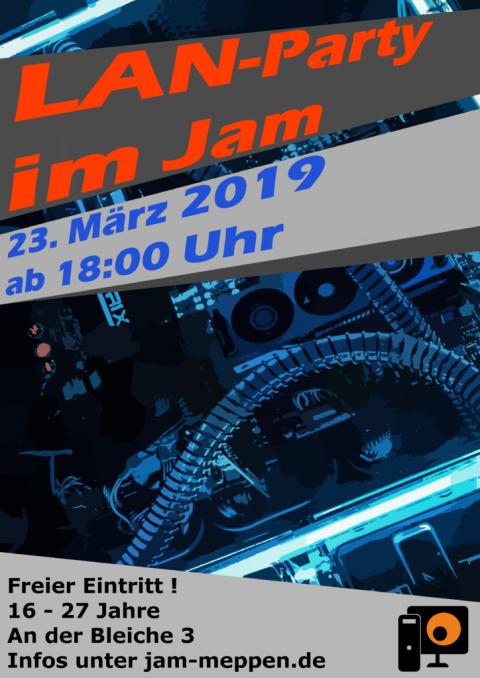 23.3.2019: LAN IM JAM