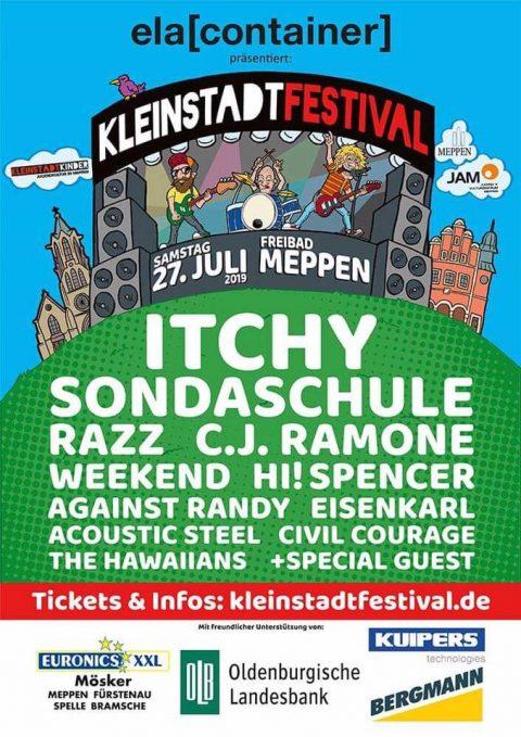 27.7.2019: Kleinstadtfestival