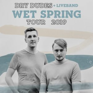 20.4.2019: Dry Dudes & Band, Support: Musikschulband!