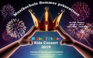 "30.11.2019: Musikschule Sommer: ""Magic of Disney"""
