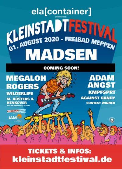 1.8.2020: Kleinstadtfestival 2020