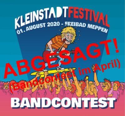 ABGESAGT!!! 17.4.2020: Bandcontest Kleinstadtfestival