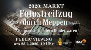 """25.2.2020: """"Public Viewing"""": Als unsere Großeltern Kinder waren (Ausverkauft!)"""