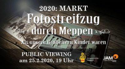 """25.2.2020: """"Public Viewing"""": Als unsere Großeltern Kinder waren"""