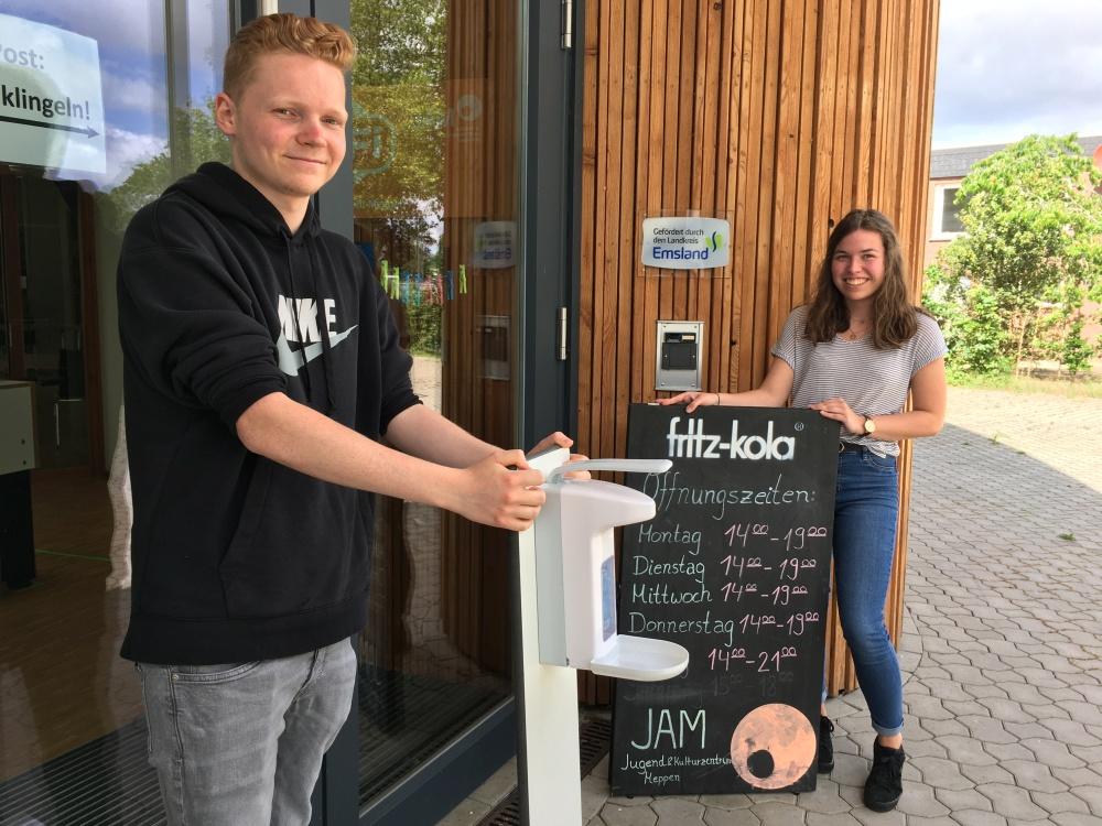 CORONA: JAM ÖFFNET MIT AUFLAGEN