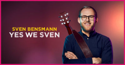 16.9.2021: SVEN BENSMANN | YES WE SVEN | PREVIEW