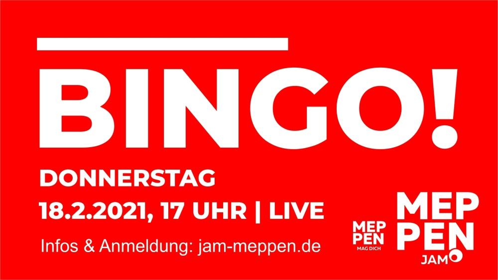 LIVE BINGO: 18. FEBRUAR 2021