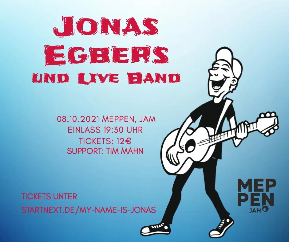 08.10.2021: JONAS EGBERS | CD-RELEASE-SHOW