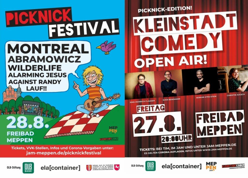 COMEDY & ROCKKONZERT IN PICKNICK-EDITION!