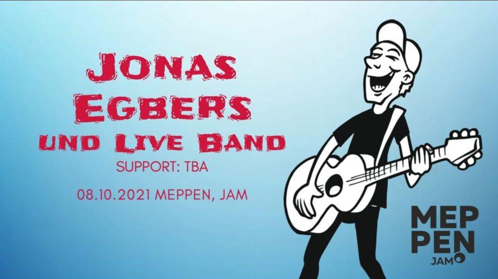 8.10.2021: JONAS EGBERS   CD-RELEASE-SHOW
